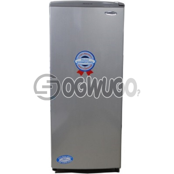 Thermocool fridge 180s, 180 Litres-storage capacity, Direct cooling technology, Fully tropicalized compressor, Big evaporator for rapid and uniform cooling, Glass shelve.: unable to load image