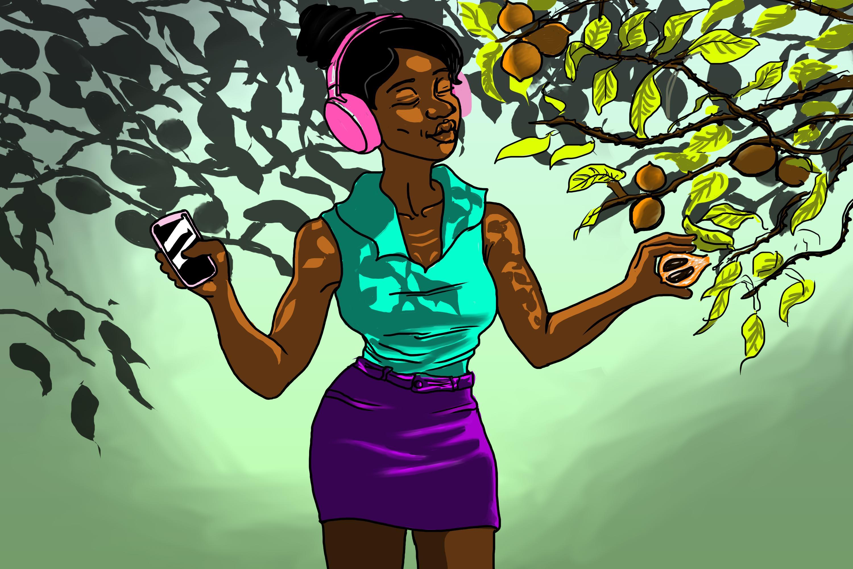 AGBALUMO a.k.a African star apple