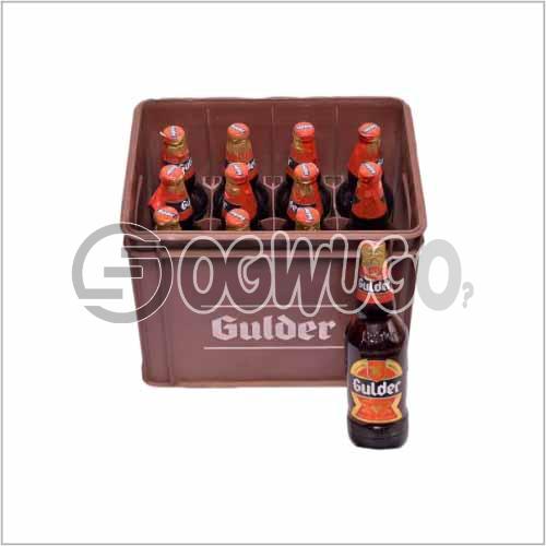 Gulder Ultimate Premium Lager Beer 12 bottles in a crate 60 cl bottle size
