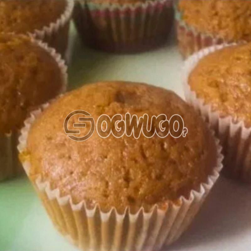Twelve (12) Cinnamon Muffins: unable to load image
