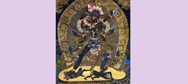 Astral Intercourse with a Wrathful Dakini