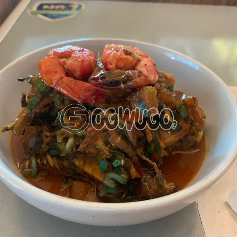 Native Soup... Made with goat meat, beef, cowleg or assorted.: unable to load image
