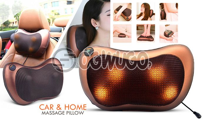 Massage Pillow for maximum blood circulation and INSTANT pain relief