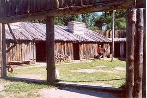 Lewis and clark expedition reconstruction of fort mandan lewis and clark memorial park north dakota fandeluxe Choice Image