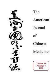 The American Journal of Chinese Medicine