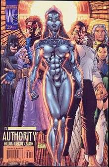 Cover To The Authority 29 July 2002 By Art Adams