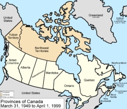 Map Of Canada During Confederation.Territorial Evolution Of Canada