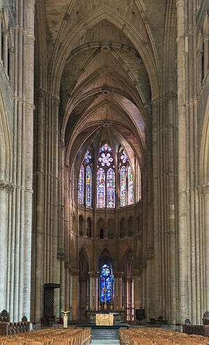 The Choir Of Reims Cathedral