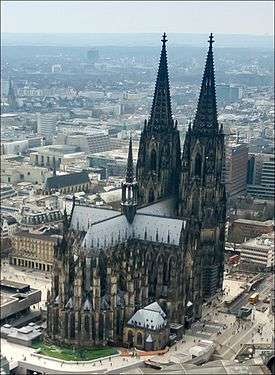 Cologne Cathedral Aerial 25326253726