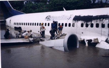 List of accidents and incidents involving airliners in Indonesia