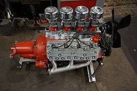 Ford flathead V8 engine