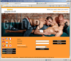 gaydar chat room