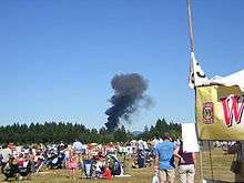 List of air show accidents and incidents