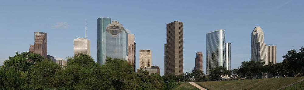 Houston the western view of downtown houston skyline sciox Image collections