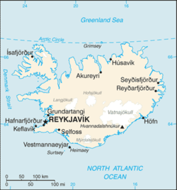 List of cities and towns in Iceland