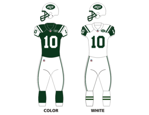 new style b10b7 f19ce Logos and uniforms of the New York Jets