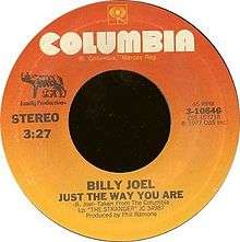 Just the Way You Are (Billy Joel song)