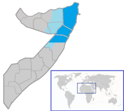 States and regions of Somalia