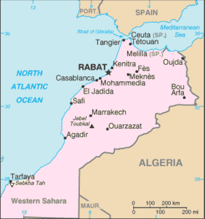List of cities in Morocco