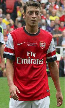 832570675 Özil playing for Arsenal in 2013