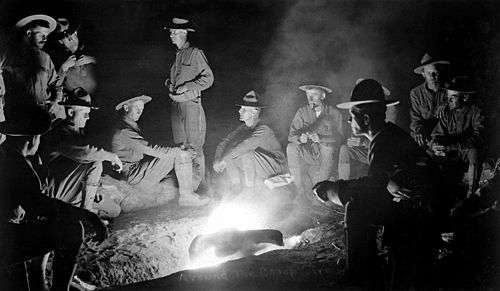 2e5064b4e1b7b4 Many campaign hats are in evidence among U.S. infantry troops during the  Pancho Villa Expedition of 1916.
