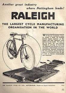 Raleigh Bicycle Company
