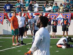 Williams at the 2005 Pro Football Hall of Fame Game. 0ad40c773
