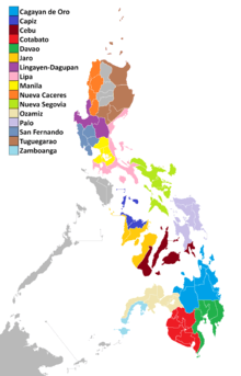 List of catholic dioceses in the philippines gumiabroncs Image collections