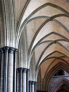 Vaults In Salisbury Cathedral