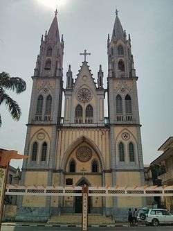 The Neo Gothic Santa Isabel Cathedral In Malabo Equatorial Guinea Finished 1916
