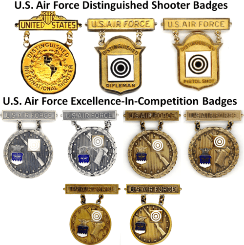 Badges Of The United States Air Force - Air-force-occupational-badges