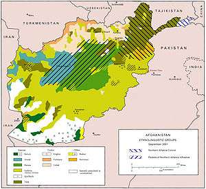 Afghanistan - Afghanistan taliban dostums massouds map