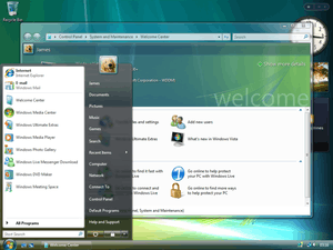 Features new to Windows Vista