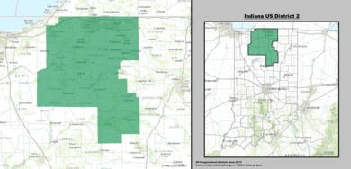 Indiana\'s congressional districts
