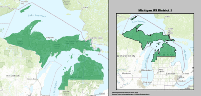 Michigans congressional districts