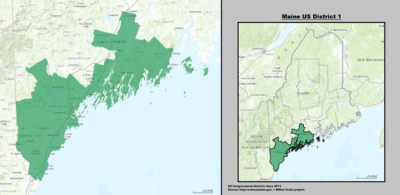 Maines 1st congressional district