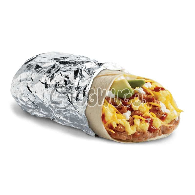 Tasty and delicious special Buritto