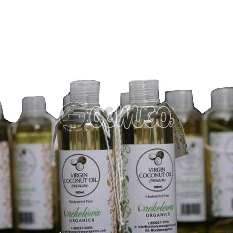 1 Bottle of 100ML Orekelewa Virgin Coconut Oil. Pure Premium Organic Coconut Oil Made in Nigeria: unable to load image