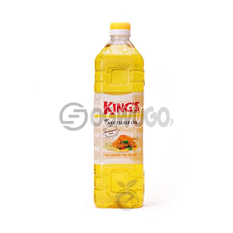 One Litre (1L) Devon Kings Cooking Oil: unable to load image