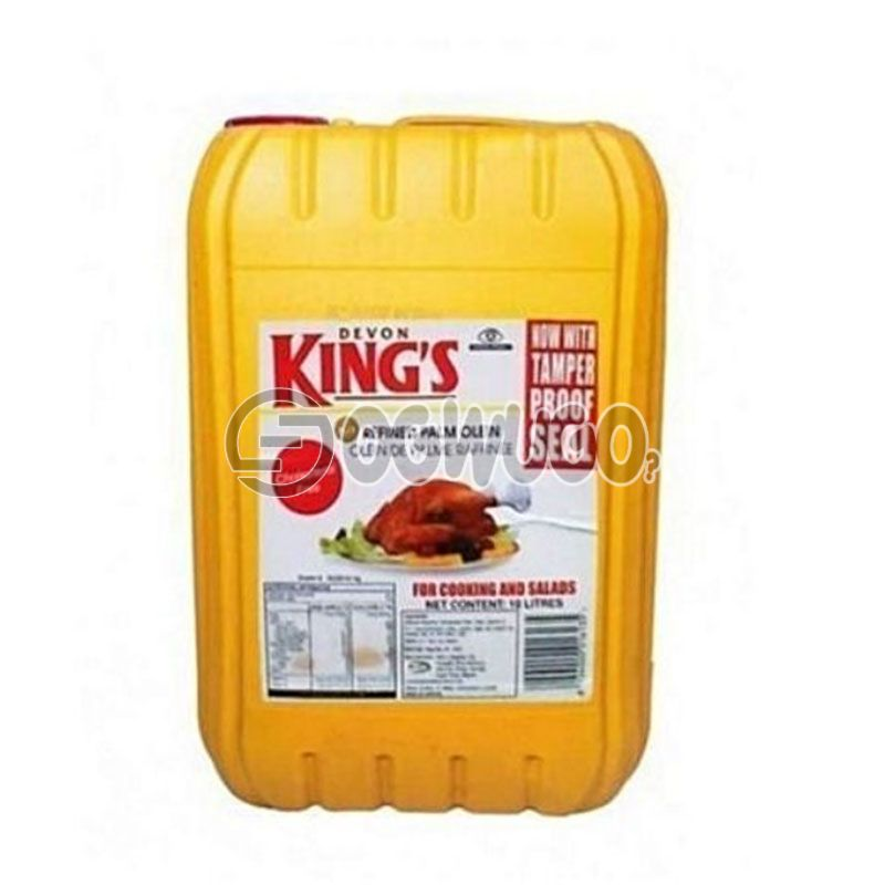 Ten Litres (10L) Devon Kings Cooking Oil: unable to load image
