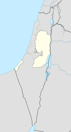 Jericho is located in the Palestinian territories